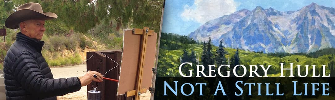Gregory Hull, Plein Air Painter