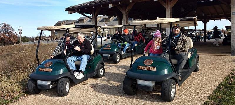 Top of the Rock Golf Cart Ride