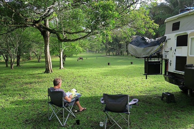 Ixpanpajul Nature Park just outside of Flores, Guatamala