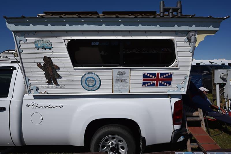 Gypsy Wagon truck camper