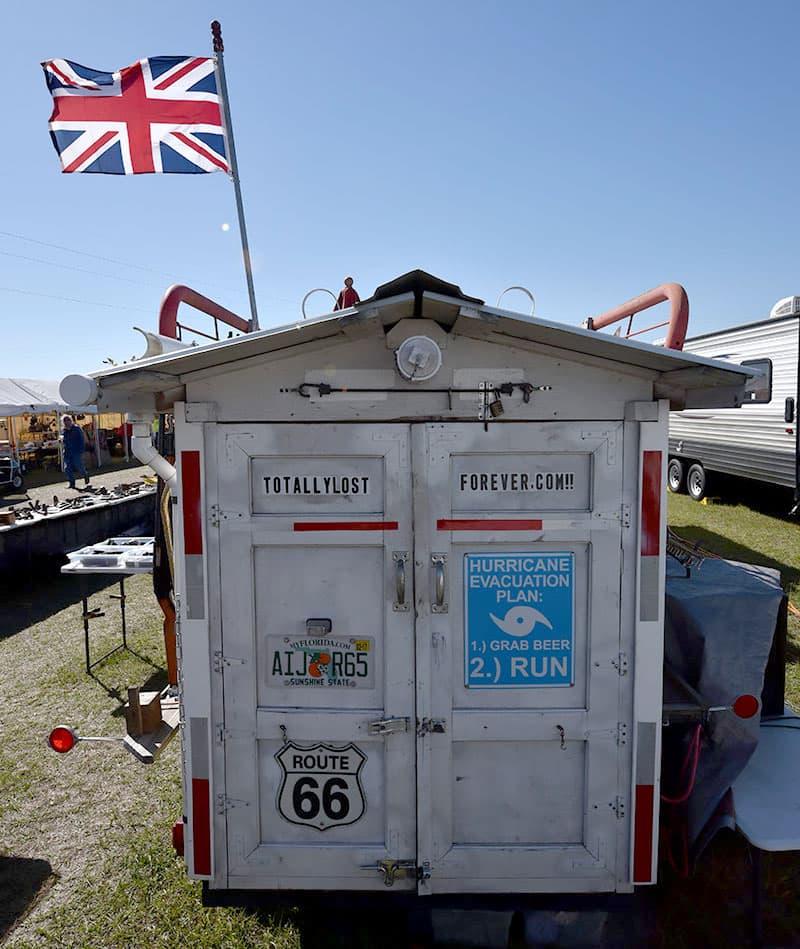 Gypsy wagon trailer
