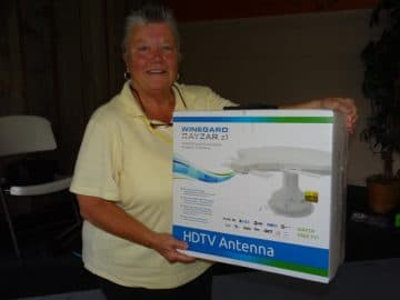HDTV winner at Minnesota Rally