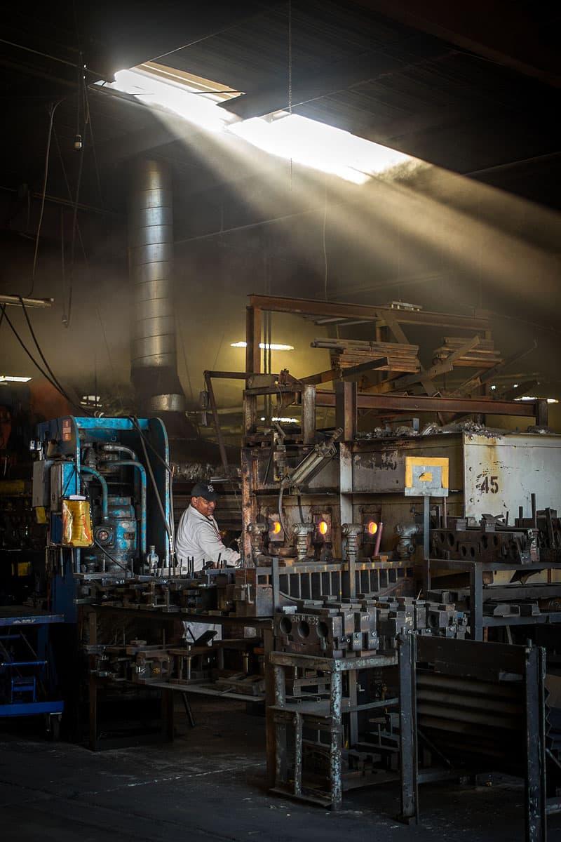 Hellwig factory process