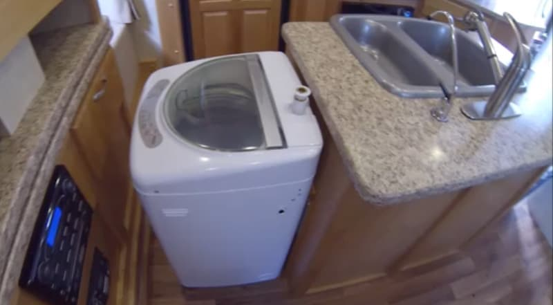 Haier Washing Machine camper