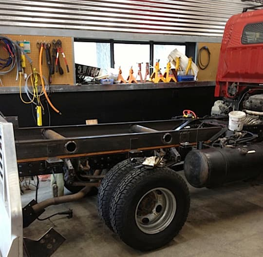 Fuso-subframe-construction