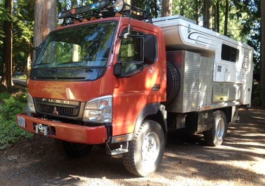 The Overland Fuso Truck Camper - Truck Camper Magazine