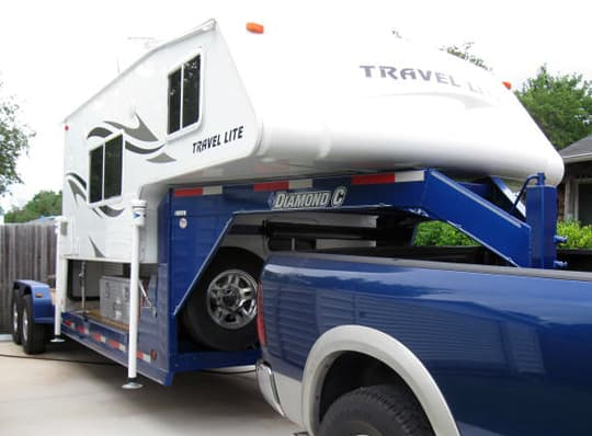 Off Road Trailers For Sale Used >> Truck Camper On A Gooseneck - Truck Camper Magazine