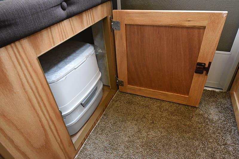 Hallmark Milner Dinette Porta Potty Door