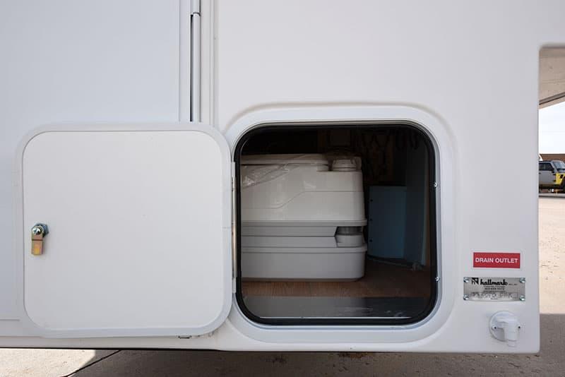 Hallmark Milner Porta Potty Access