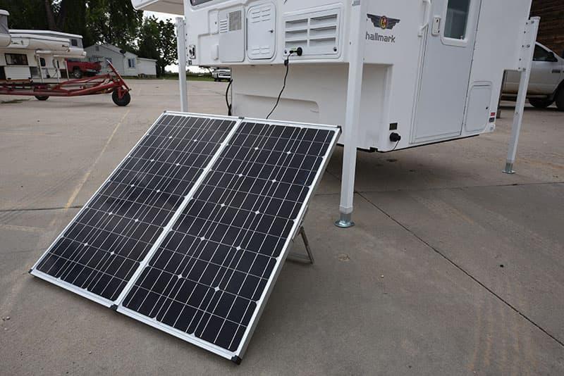 Hallmark Milner Portable Solar Panels