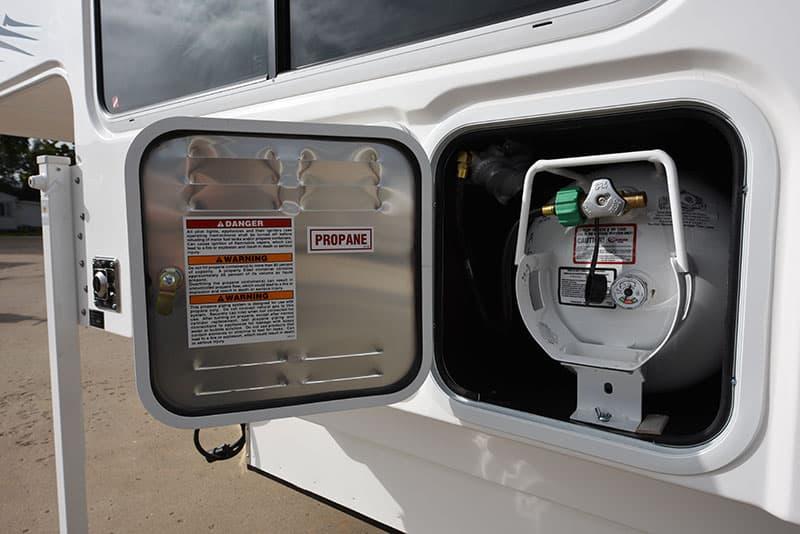Hallmark Milner Propane Compartment