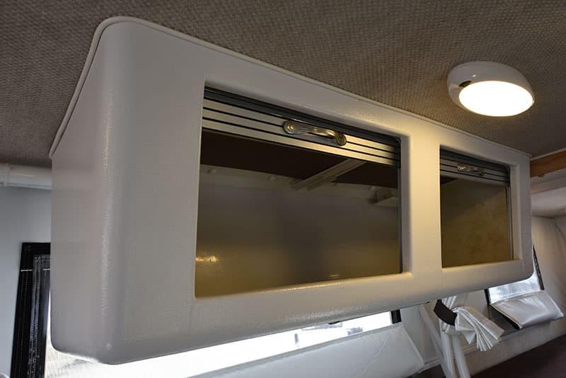Hallmark Milner Upper Cabinets Open