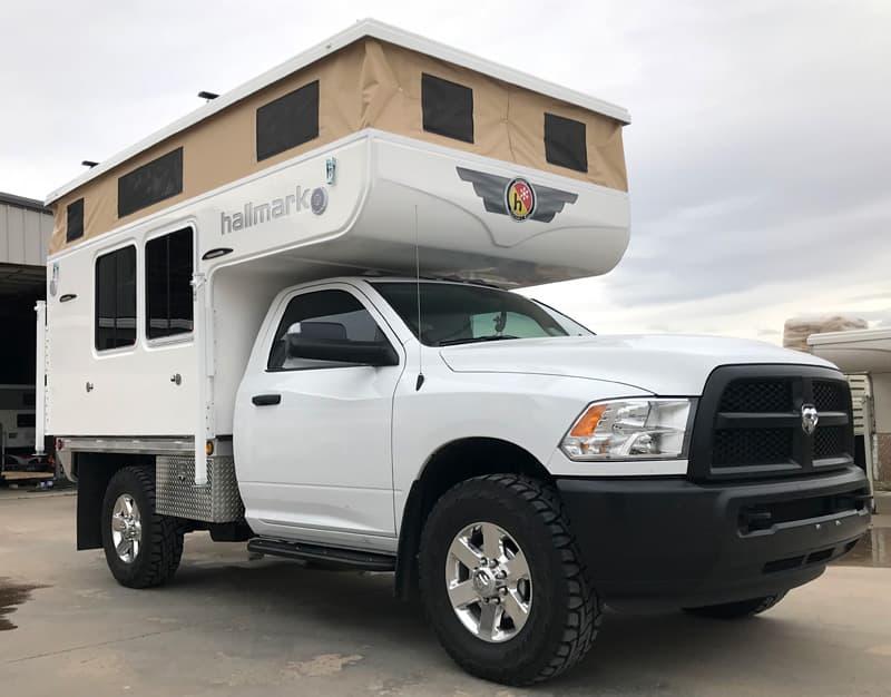 Hallmark Nevada Flatbed Camper