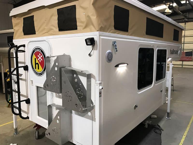 Hallmark Nevada Camper Back Entry