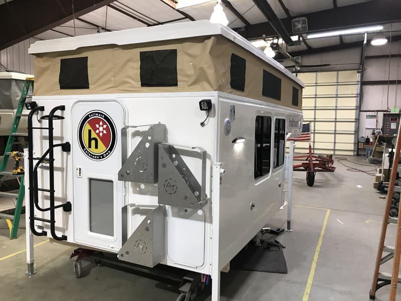 Hallmark Nevada Flatbed On The Production Line