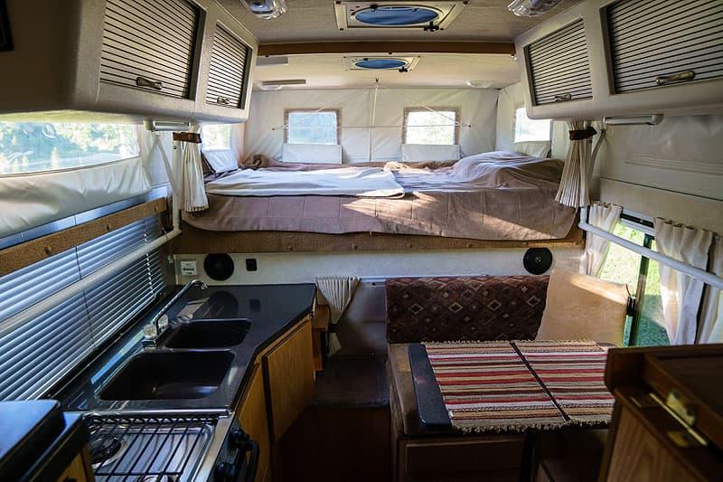Hallmark Ute XS camper interior