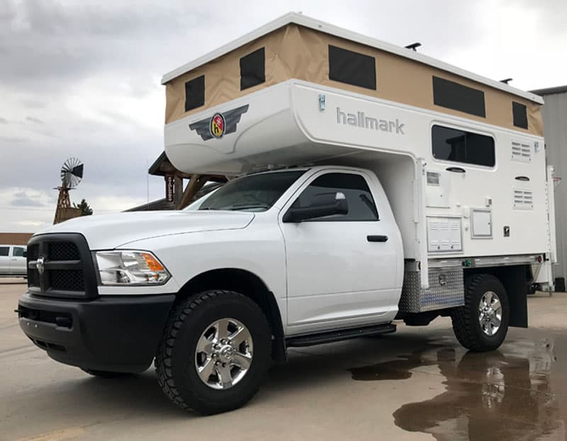 2018 Hallmark Nevada Flatbed Pop-Up Truck Camper - Truck