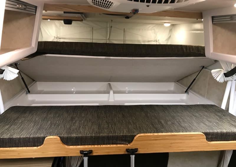 Hallmark Flatbed Camper Underbed Storage