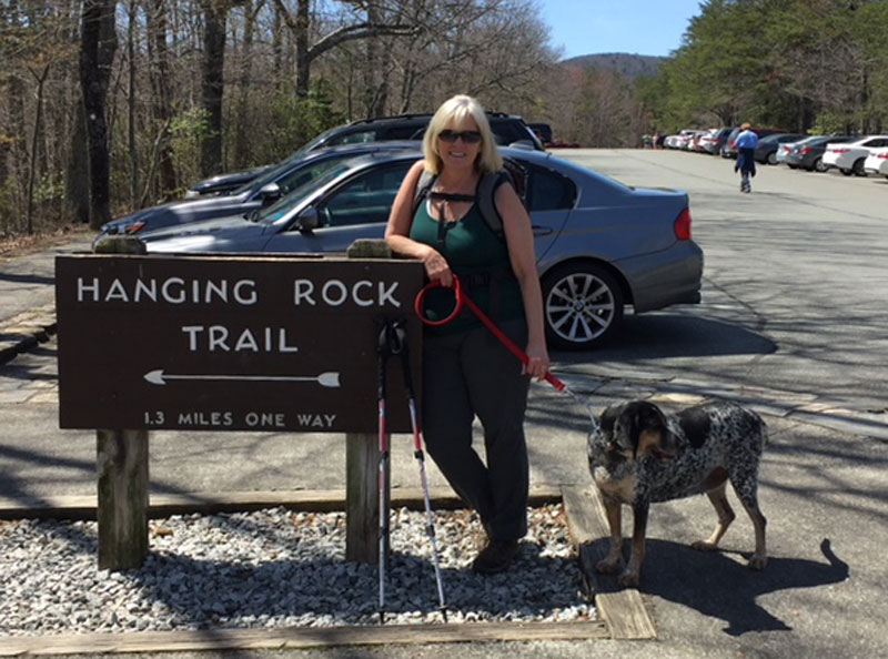 Hanging Rock Hike In North Carolina
