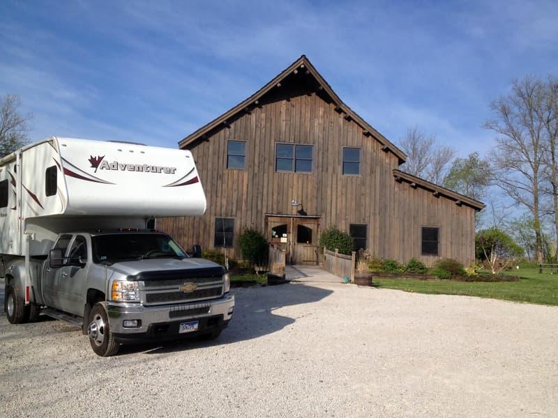 Harvest Host Winery in Illinois