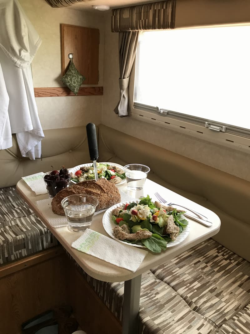 Healthy Eating In A Truck Camper Can Be Simple And Delicious