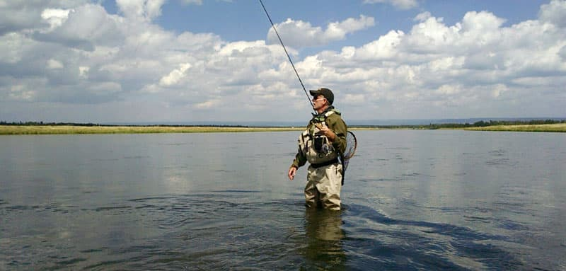 Henrys Fork Of The Snake River In Eastern Idaho Flyfishing