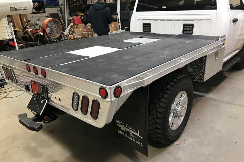 Hillsboro Flatbed On Ram Truck