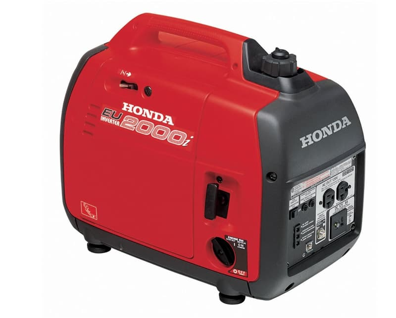 Honda 2000 generator for truck campers