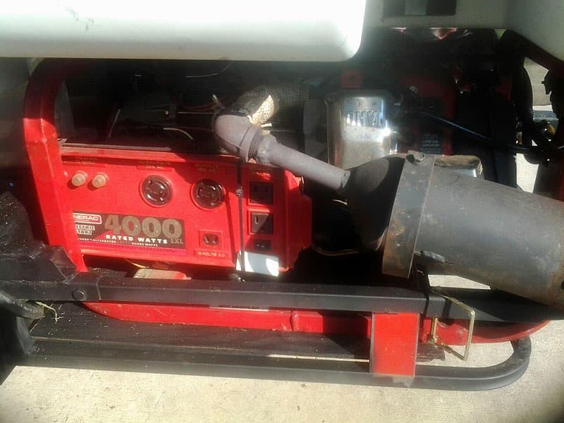 Honda generator storage if needed