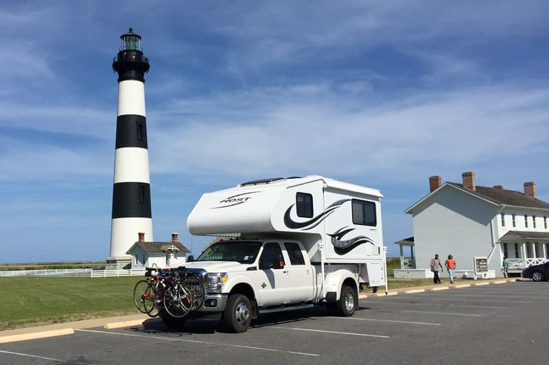 Host Camper Bode Island Lighthouse
