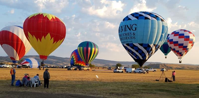 Hot Air Balloons Black Hills South Dakota