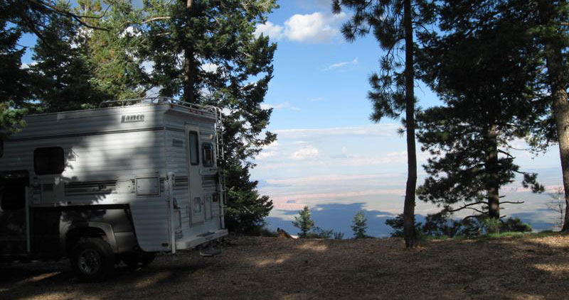 Hot Weather Camping Kaibab Plateau