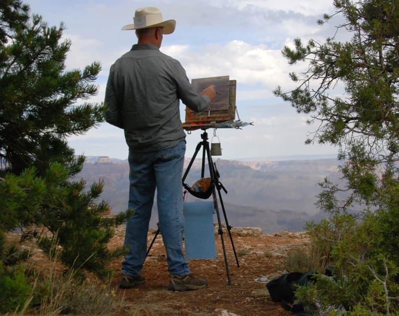 Desert View painting