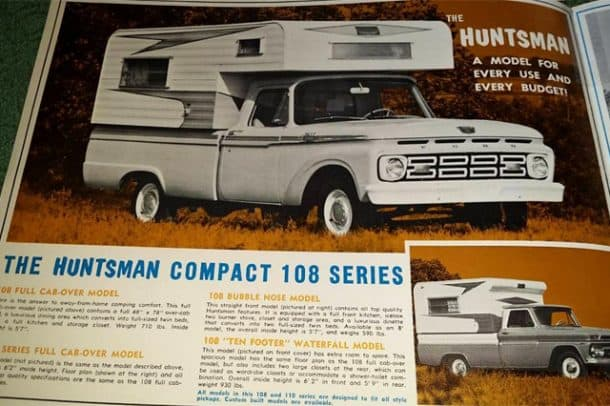 Huntsman Camper Advertisement, submitted by Tom Black