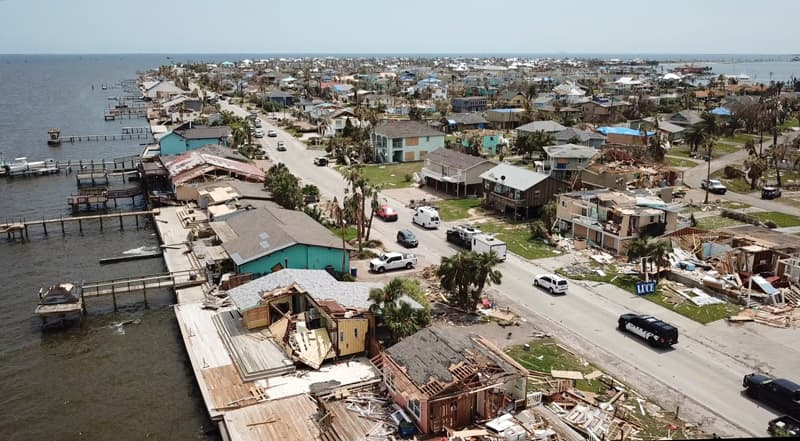 Hurricane Harvey Disaster Area