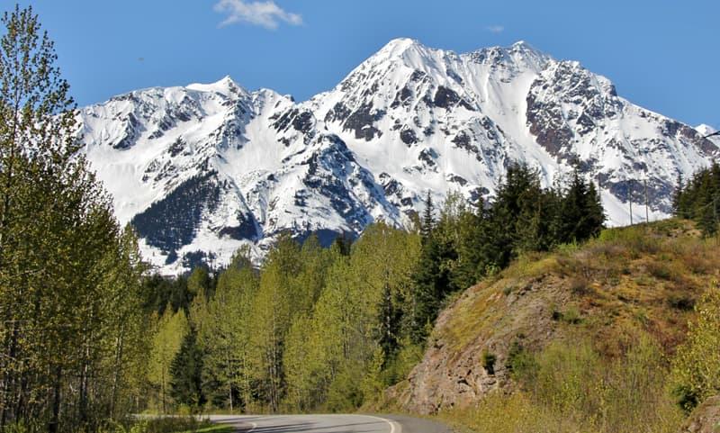 Hwy 37A near Meziaden, Junction, BC scenery
