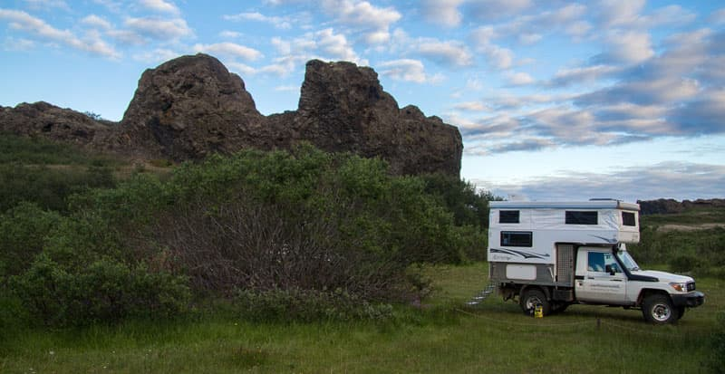 Northstar Camper in Iceland camping