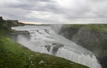 Iceland-scenery-Gullfoss-canyon-of-Hvita-river