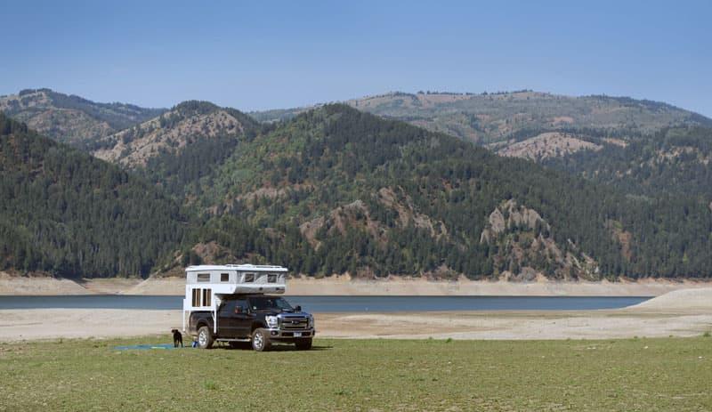 Traveling through Idaho