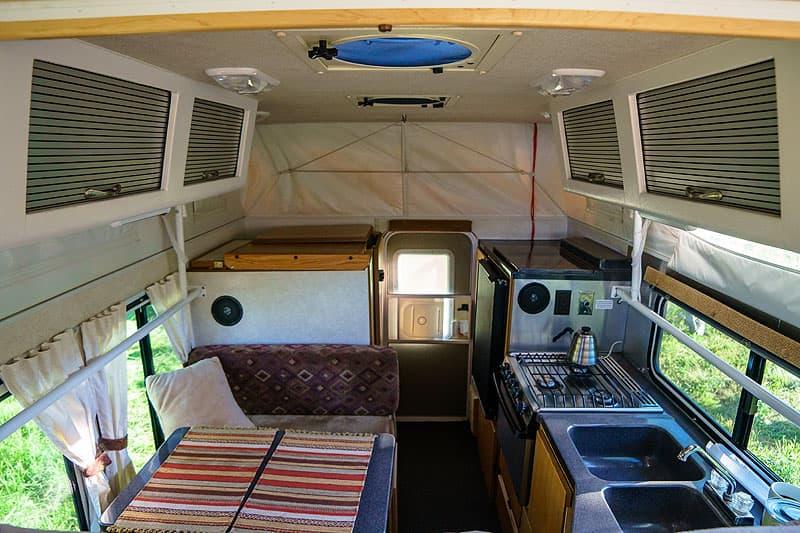 Hallmark Ute XS interior camper