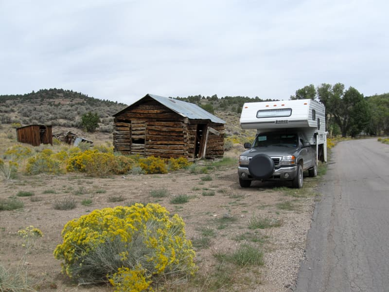 Ione Ghost Town Nevada