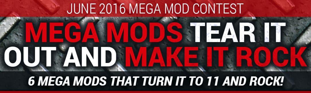 June 2016 Mega Mod Contest