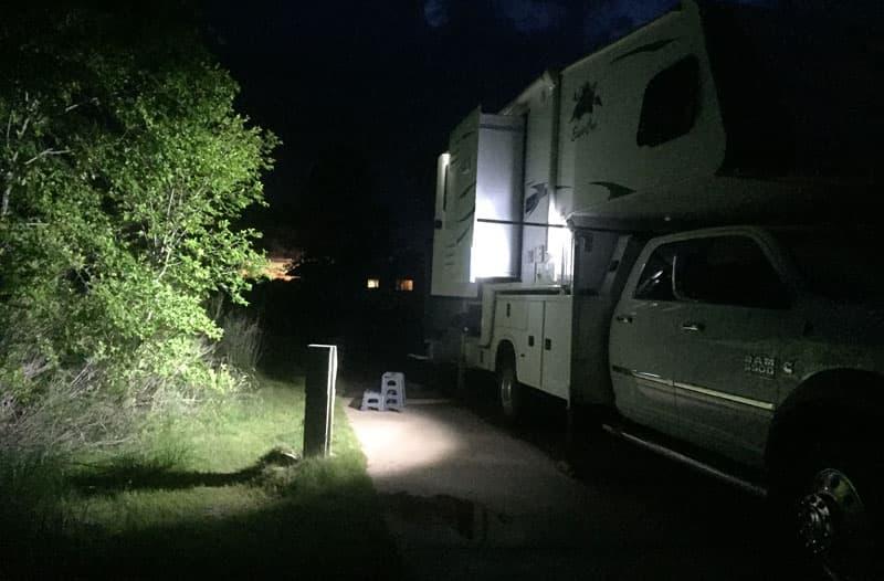 Jack Lights at Night