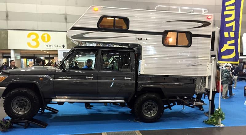 Japan J-Cabin truck camper