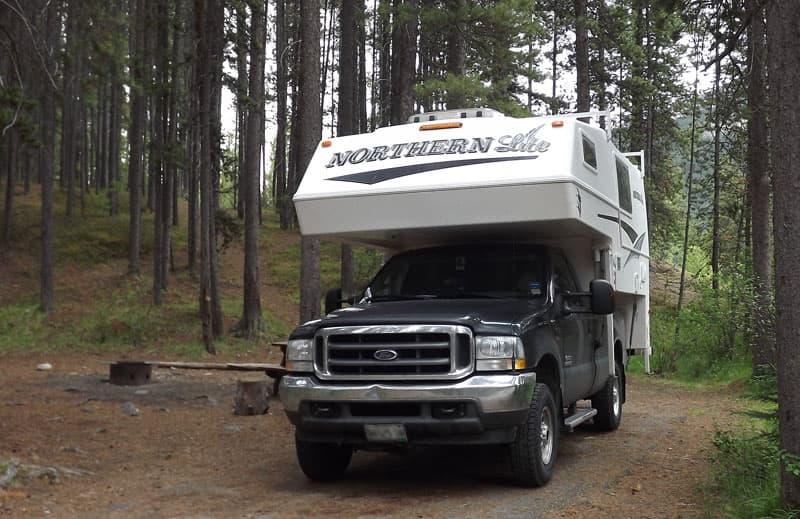 Jasper National Park, Jonas Creek Campground
