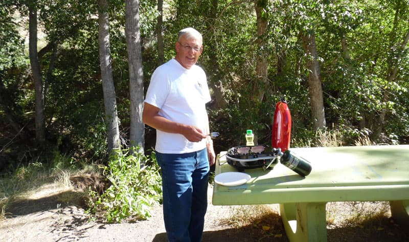 John Bull Grilling Water Canyon Nevada