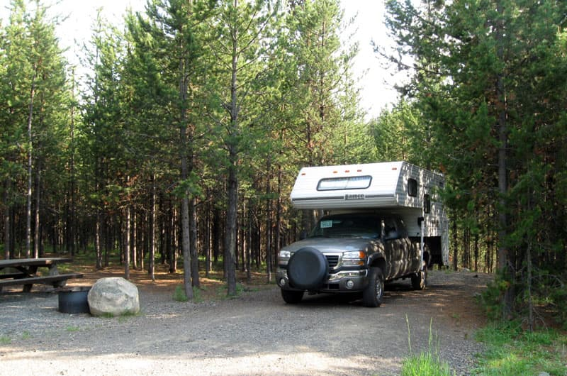 North Fork John Day Campground Oregon