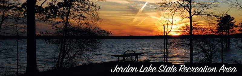 Jordan Lake Recreation Camping in Apex, North Carolina