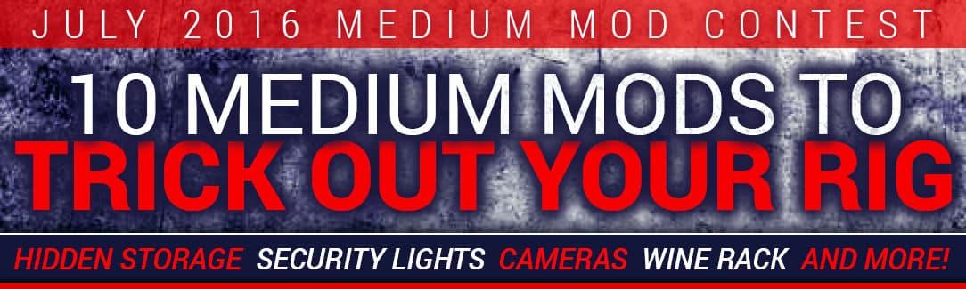 July Camper Modification Contest, Medium Mods