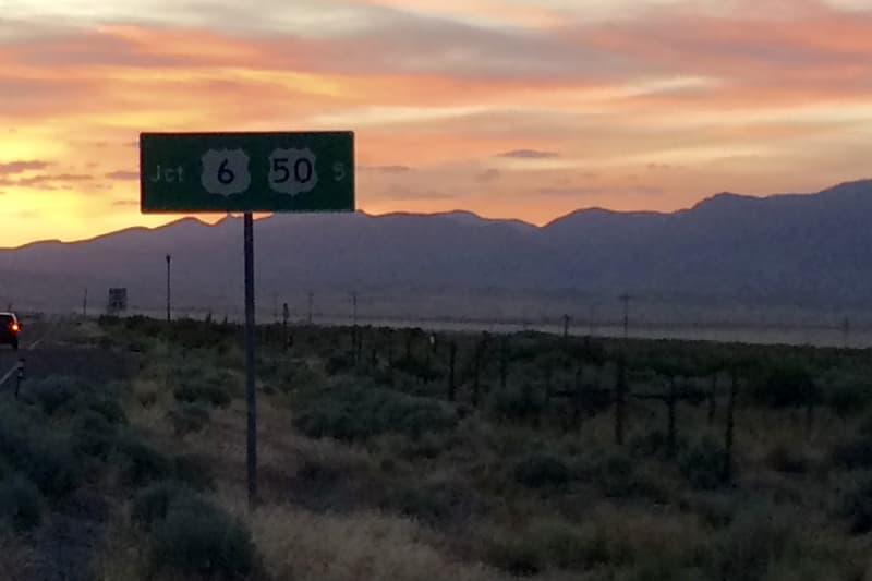 Junction 6 And Highway 50 Sign